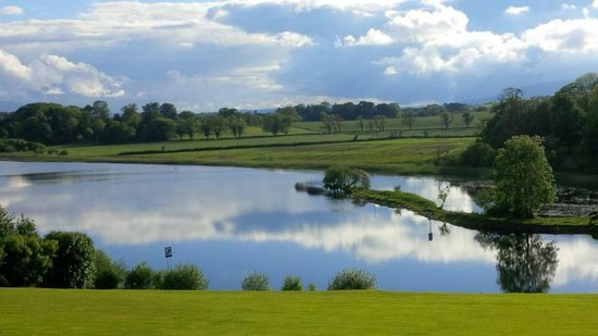 Killyhevlin Lakeside Hotel & Lodges: The morning after the wedding as viewed from within the grounds