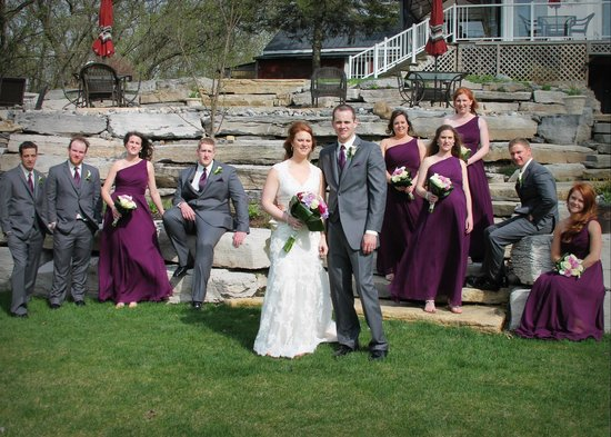 Daisy Hill Bed and Breakfast : May 10th wedding