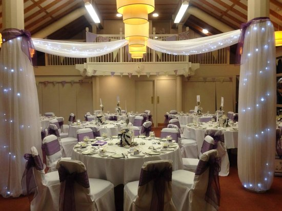 Marwell Hotel: WEDDING RECEPTION ROOM