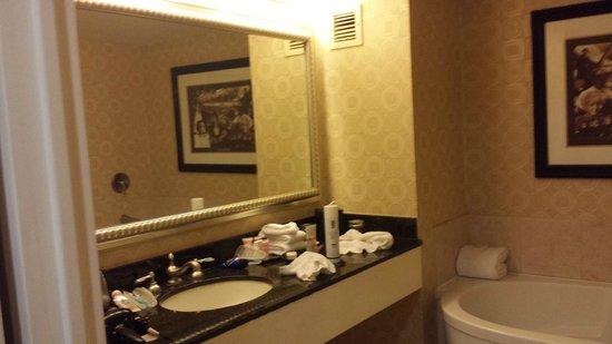 Planet Hollywood Resort & Casino: Sink