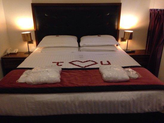 Navona Colors Hotel: Honeymoon room