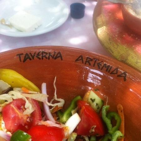 Artemida Taverna: heerlijke salade