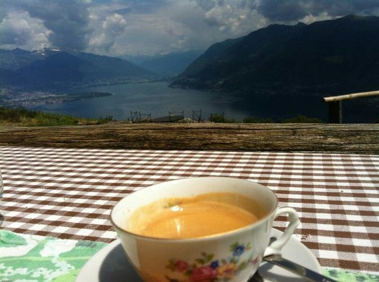 Osteria Borei: Kaffee