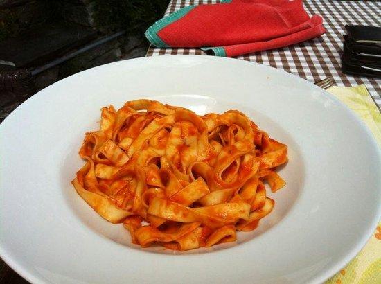 Osteria Borei: Pasta Pomodori