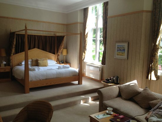 Castle Green Hotel in Kendal, BW Premier Collection: Our room upgrade to Executive Suite.