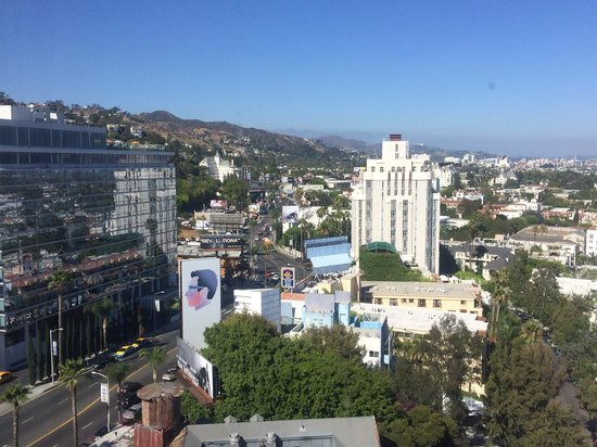 Mondrian Los Angeles Hotel: Photo taken from the room
