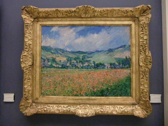 Musée des Beaux-Arts de Rouen : Claude Monet - Champ de coquelicots, environs de Giverny - 1885