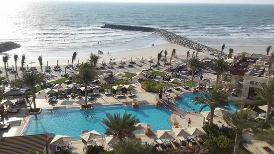 Ajman Saray, A Luxury Collection Resort: view from our room