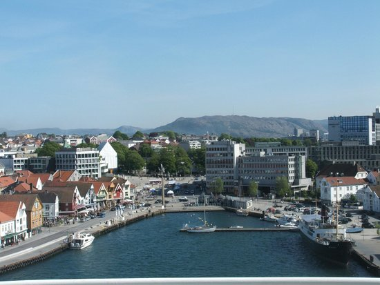 Stavanger Tourist Information Office: Stavanger views from the Ship