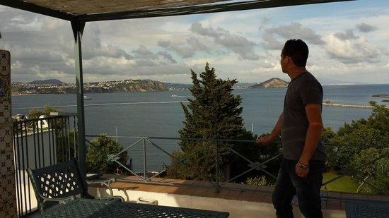 Hotel Residence Tirreno : Terrazzo Pamoramico