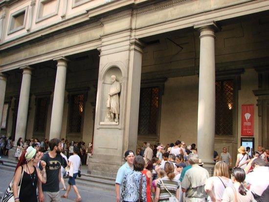 Galería de los Uffizi: Галерея Уффици