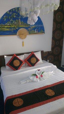 Botanic Garden Homestay: Спальня в номере)