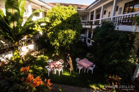 Hotel Apartamentos Otorongo: Jardín