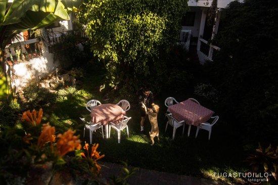 Hotel Apartamentos Otorongo: Nuestro jardín