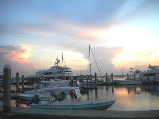 Sunset at the Marina of Fernandina Beach
