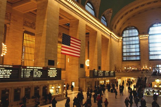Grand Central Terminal: Дух Америки!