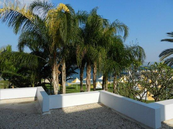 Gai Beach Resort Spa Hotel: View from Patio