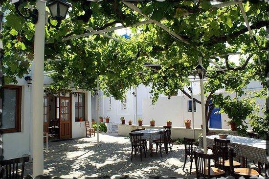 Hotel Artemon: Terrasse