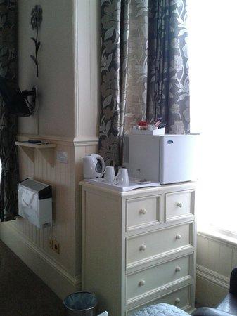Sunflower Lodge : Mini fridge room3