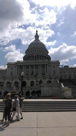 USA Guided Tours: Picture taken on the Best of DC Tour June 14th- The Capitol