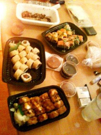 Oishii: Sushi per Lieferdienst