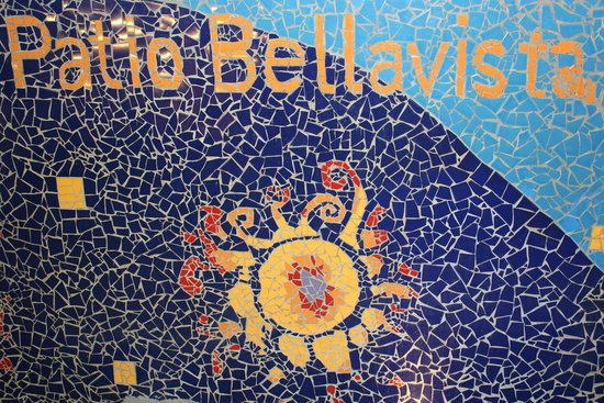 Patio Bellavista: Mosaico