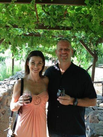 Sedona Wine Adventures: Anniversary Celebration at Page Springs Cellars