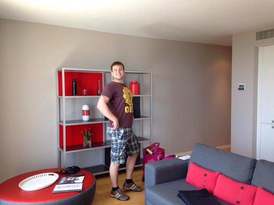 Lugaris Beach : Living room