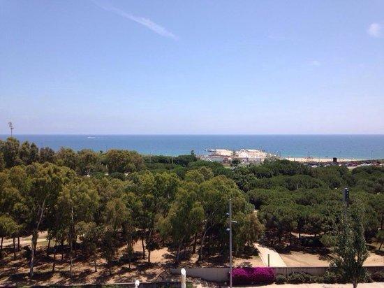 Lugaris Beach : The view