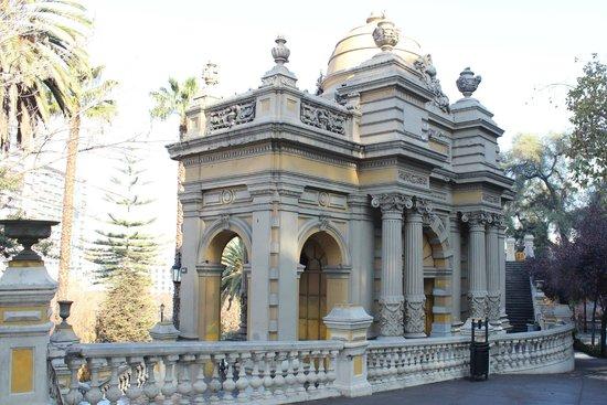 Cerro Santa Lucía: Cerro Santa Lúcia 1