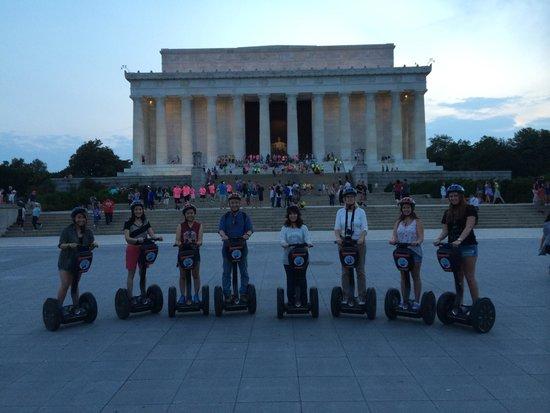 City Segway Tours DC : Washington D.C. Segway Tour - Lincoln Memorial
