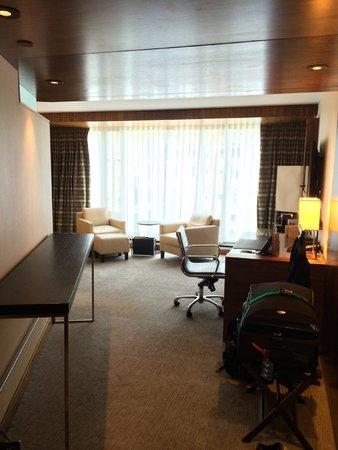 Fairmont Pacific Rim : upon entering the room