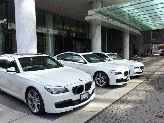 Fairmont Pacific Rim : Hotel cars: BMW 7 series