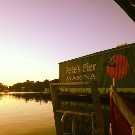 River Ventures Manatee Tour Center : Sunrise in Kings Bay