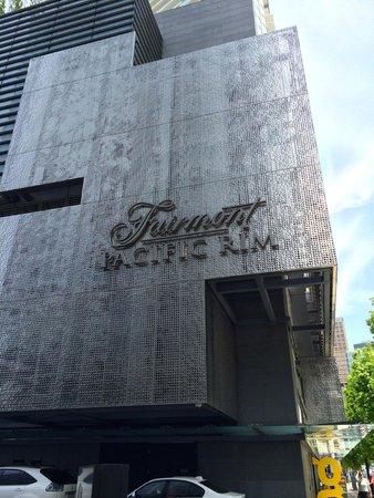 Fairmont Pacific Rim : Exterior