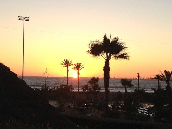 ClubHotel Riu Tikida Dunas: Sunset
