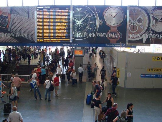 Stazione Termini: вокзал Термини
