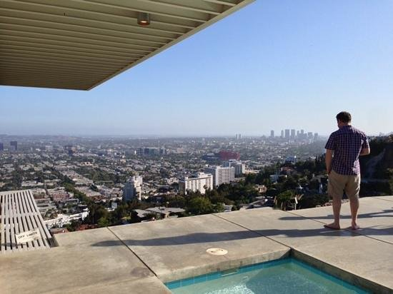 Stahl House : Way up on the hollywood hills
