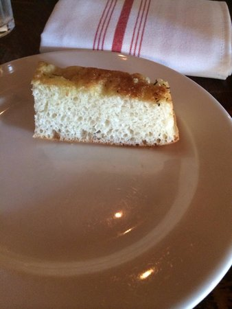 Osteria Cicchetti: Bread before meal