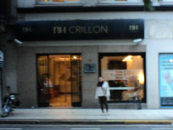 NH Buenos Aires Crillón: Fachada do hotel NH Crillon