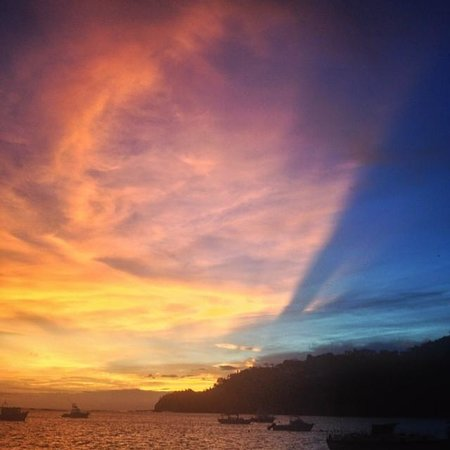 The Maderas Village : Sunset view from the catamaran