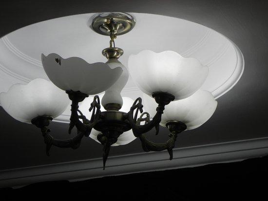 Hotel de Park: Room roof shade lamps