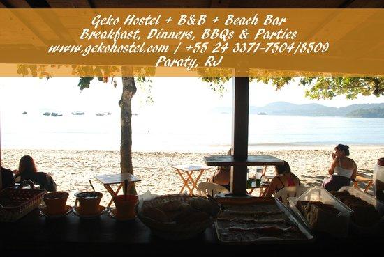 Geko Hostel Paraty: Beach Breakfast
