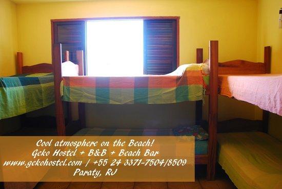 Geko Hostel Paraty: Dorms