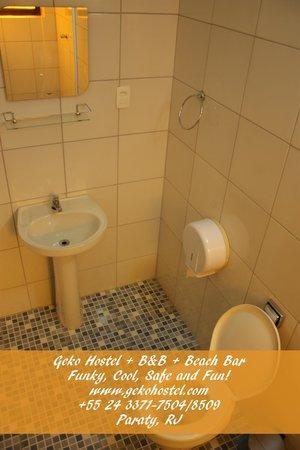 Geko Hostel Paraty: All bedrooms with ensuites bathrooms