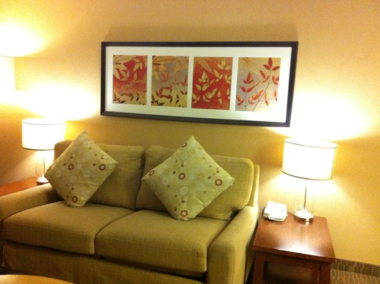 DoubleTree by Hilton Hotel Portland: DoubleTree King Suite Sofabed