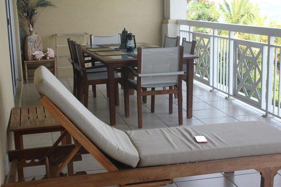 Alexandra Resort: patio dining