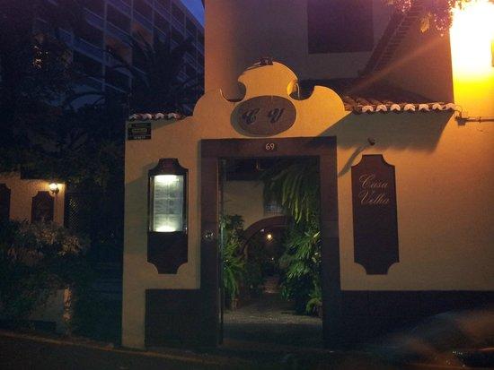 Casa Velha Restaurant : A fachada.