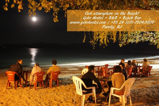 Geko Hostel Paraty: Beach Parties