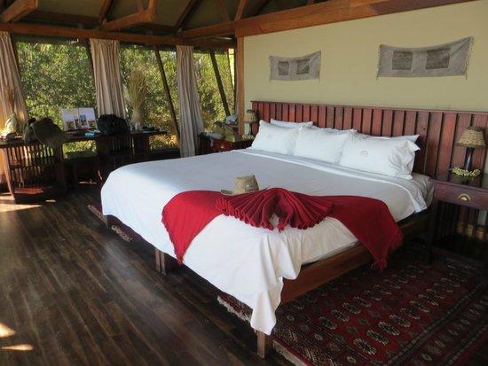 Lebala Camp - Kwando Safaris: 2 x double beds